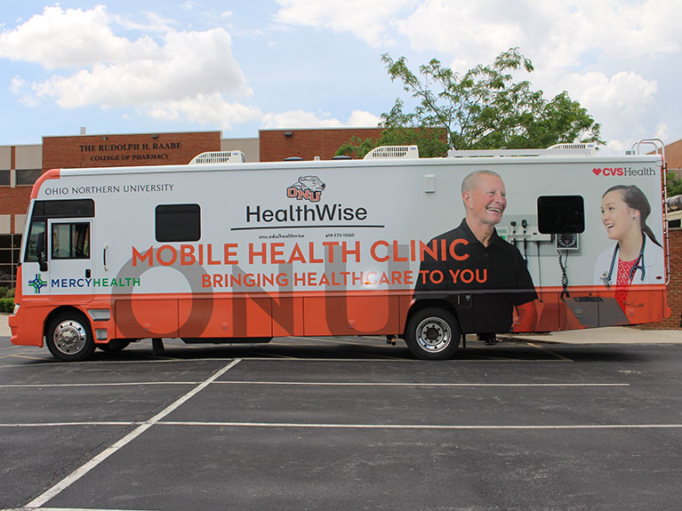 ONU Healthwise Mobile Health Clinic brings needed services to